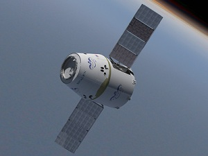 SpaceX Dragon cargo vehicle