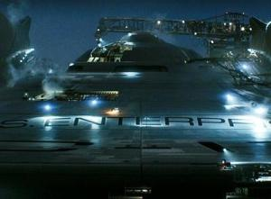 The new Enterprise: it's starting to grow on me...