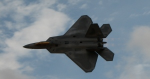 F-22 at the Nellis AFB Air Show, November 2008