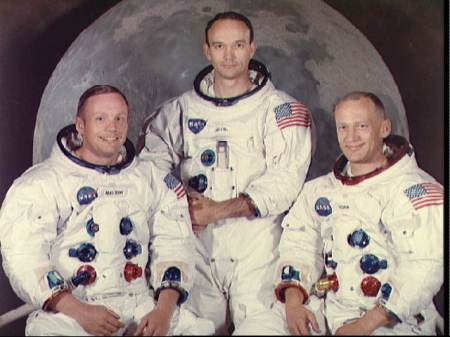 The crew of Apollo 11