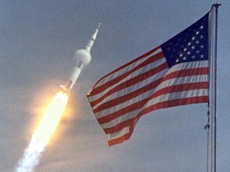 Apollo 11 launch supersonic