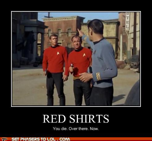 red shirt die why you should never wear the red shirt the old gray cat